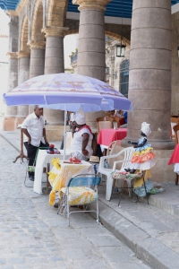 El color morado, Habana Vieja, Cuba.
